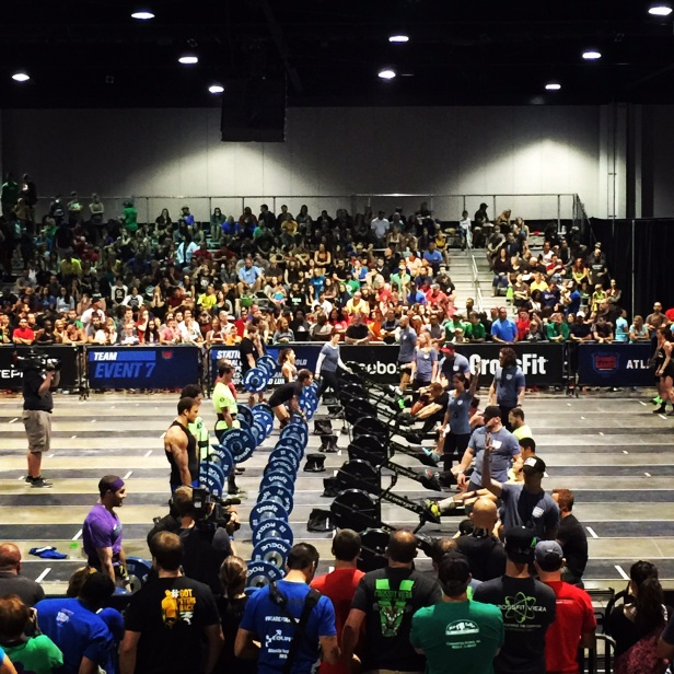 The Crossfit Atlantic Regionals