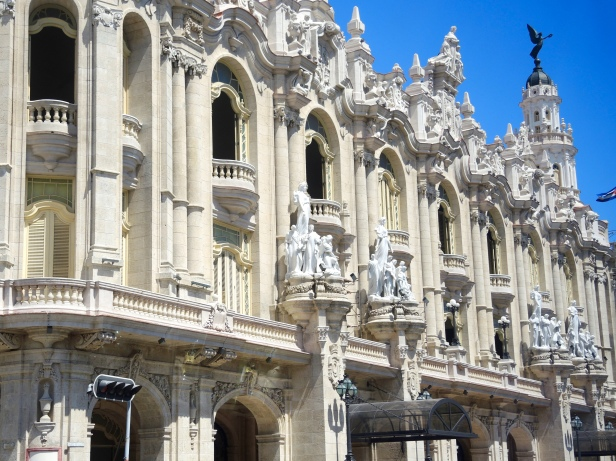My absolute favorite architecture in Havana.