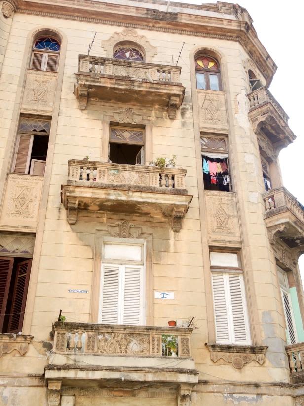 A neighborhood in Old Havana