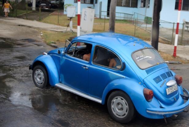 Punchbag blue!