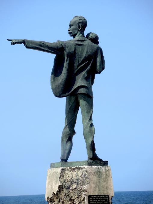 Jose Martí statue.