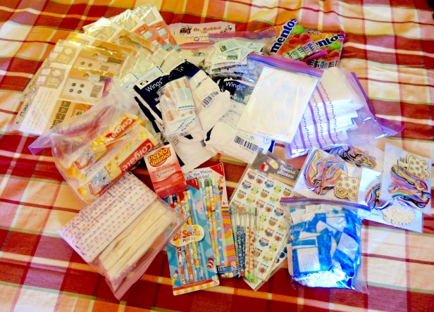 Donations: Craft, medical, and school supplies and over-the-counter medications.