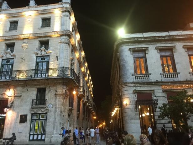 St. Francis Square at Night