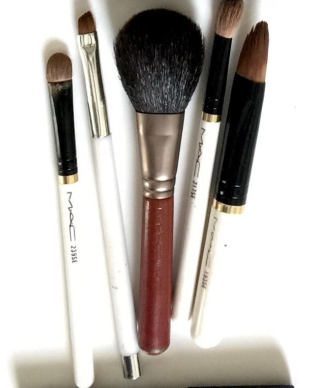 Mac and Sonia Kashuk Brushes