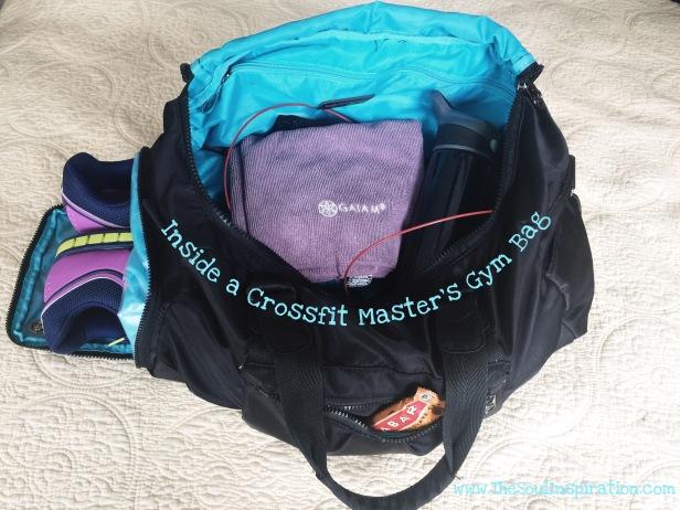 My Crossfit bag and a peak at my gear
